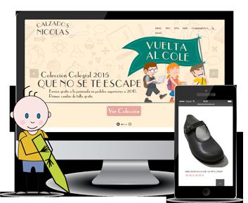 b03bdff4441 Calzados Nicolás • Digital Barber  Online Marketing